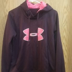 Womens under armour size medium hoodie.